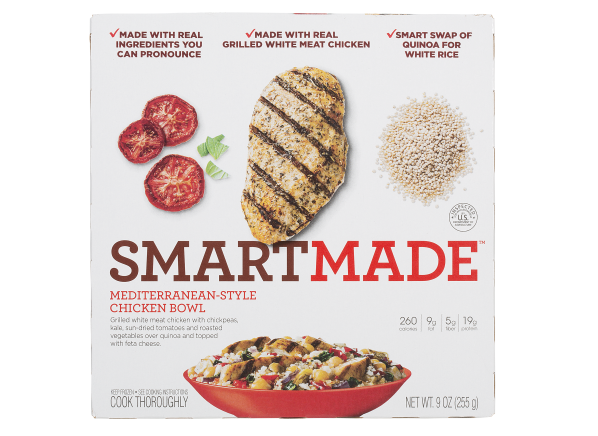 Smart Ones SmartMade Mediterranean-Style Chicken Bowl frozen food