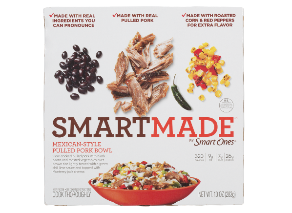 Smart Ones SmartMade Mexican-Style Pulled Pork Bowl frozen food