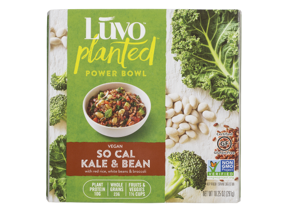 Luvo Planted Power Bowl So Cal Kale & Bean frozen food