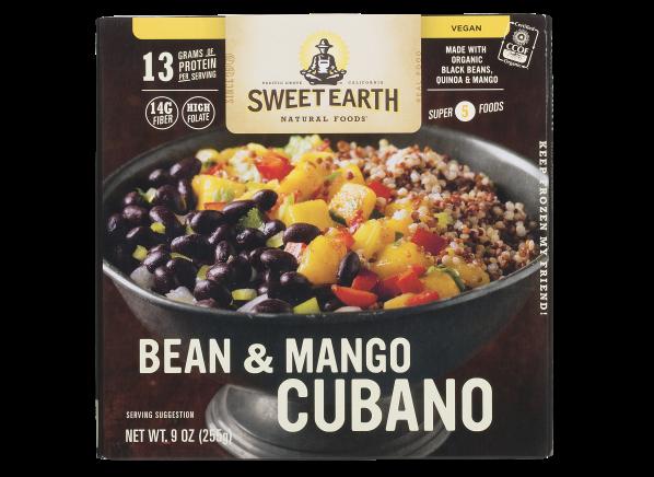 Sweet Earth Bean & Mango Cubano frozen food