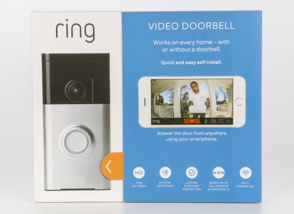 Ring Video Doorbell 88rg000fc100 Home Security Camera