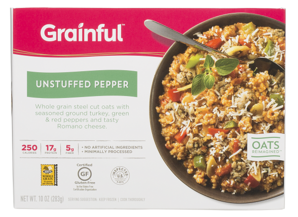 Grainful Unstuffed Pepper frozen food