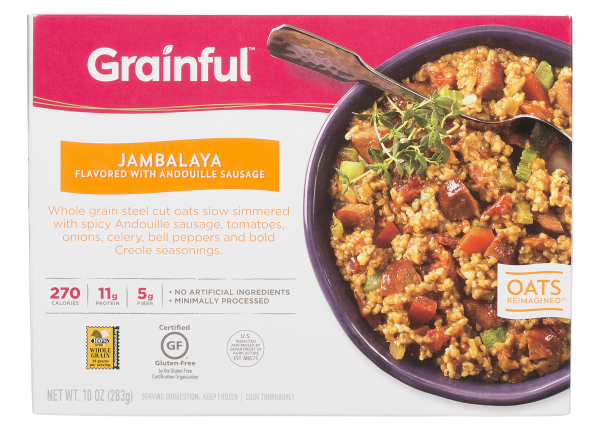 Grainful Jambalaya frozen food