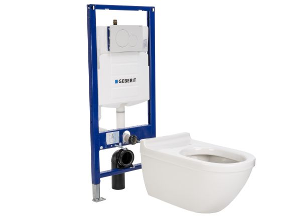 Duravit Starck 3 2226090092 With GEBERIT 111.335.00.5 UP3 20 Tank Toilet