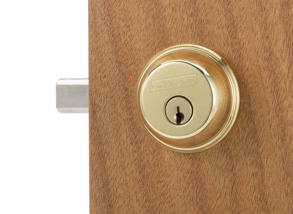 Schlage Single Cylinder Deadbolt B60N 505 605 door lock