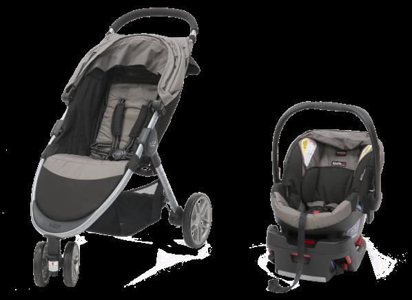 1c4e789e2 Britax 2017 B-Agile 3/B-Safe 35 Travel System stroller - Consumer ...
