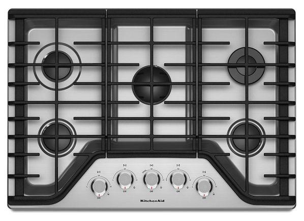 Kitchenaid Kcgs350ess Gas Cooktop