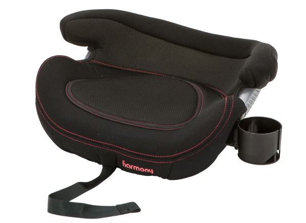 Harmony Big Booster Deluxe with LATCH car seat