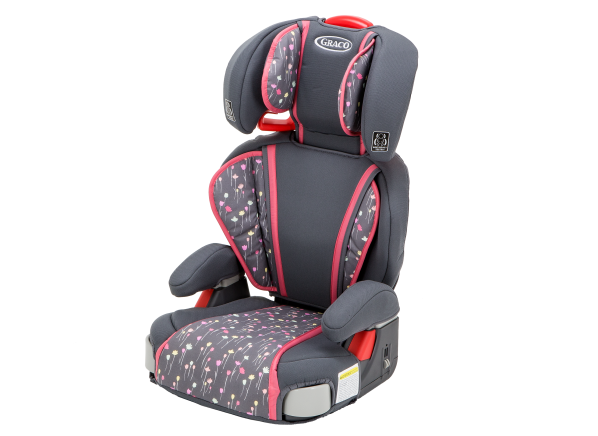 how to install graco booster seat with back