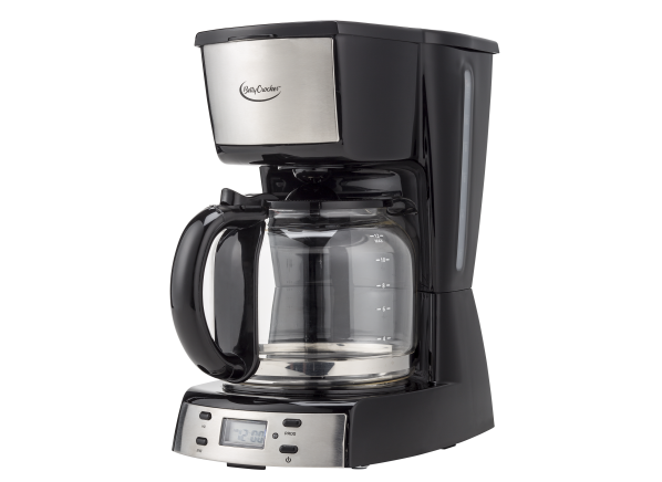 Betty Crocker 12-cup Stainless Steel BC-2809CB coffee maker