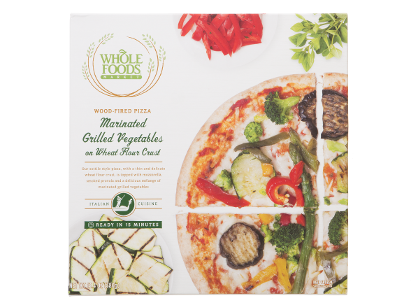 Whole Foods Market Wood-Fired Pizza Marinated Grilled Vegetables