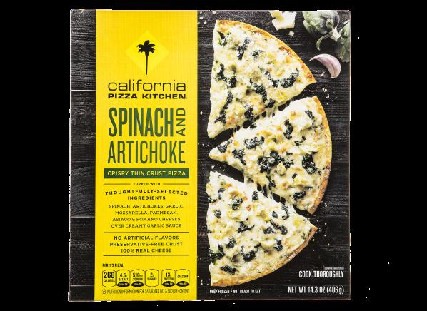 California Pizza Kitchen Spinach And Artichoke Crispy Thin