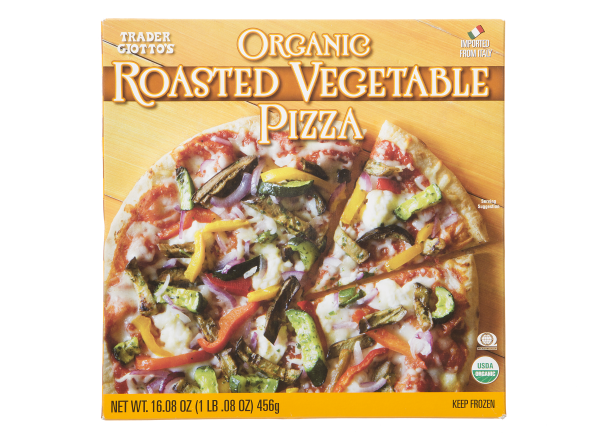 Trader Giotto's (Trader Joe's) Organic Roasted Vegetable Pizza