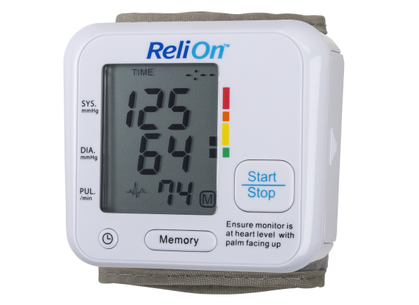ReliOn (Wal-Mart) BP200W blood pressure monitor
