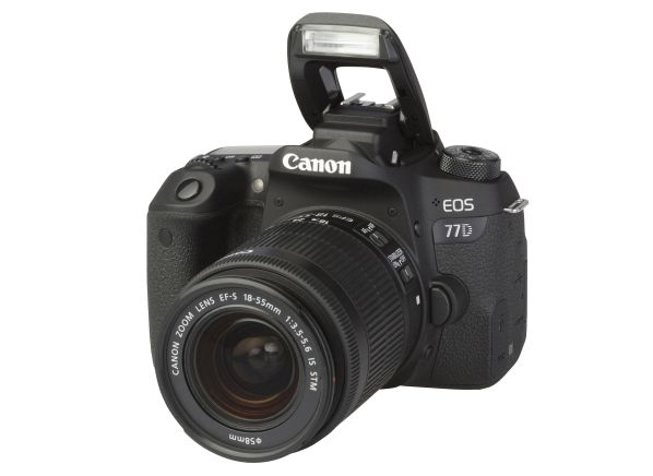 Canon EOS 77D w/ 18-55mm IS STM camera