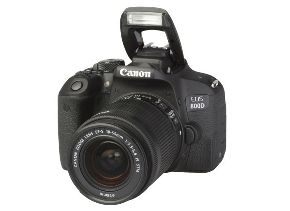 Canon EOS 800D Rebel T7i w/ 18-55mm IS STM camera