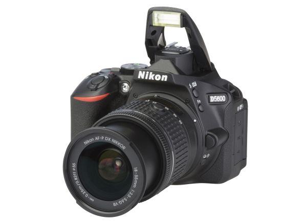 Nikon D 5600 w/ AF-P DX 18-55mm VR camera