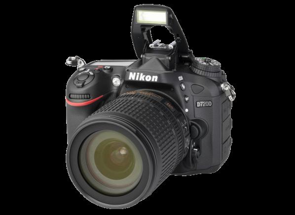 Nikon D 7200 w/ 18-105mm VR camera