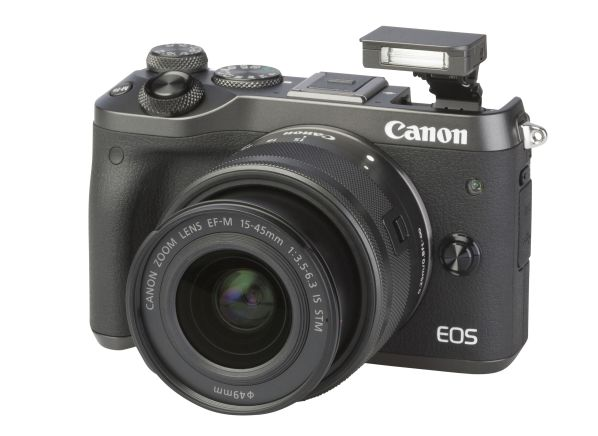 Canon EOS M6 w/ 15-45mm IS STM camera