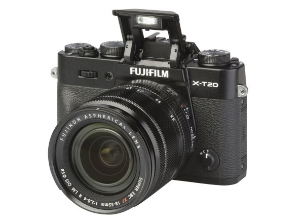 Fujifilm X-T20 w/ 18-55mm OIS camera
