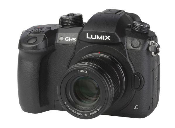 Panasonic Lumix DMC-GH5 w/ 42.5mm f1.7 camera