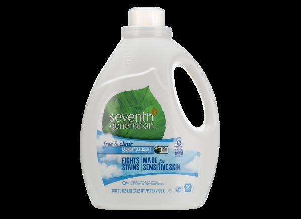 Seventh Generation Free & Clear Liquid Sensitive Skin laundry detergent