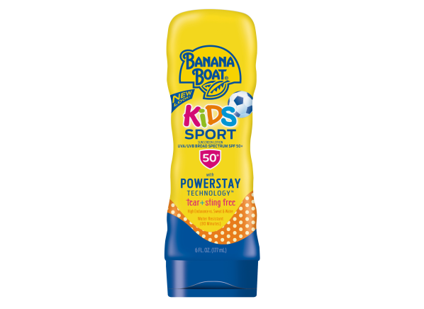 Banana Boat Kids Sport Lotion SPF 50+ sunscreen