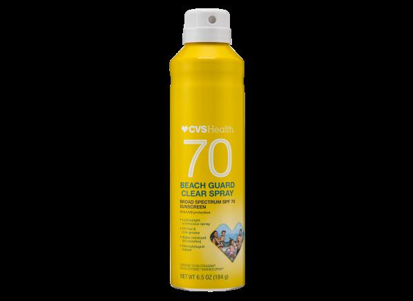 CVS Health Beach Guard Clear Spray SPF 70 sunscreen