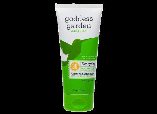 Goddess Garden Organics Everyday Natural Lotion SPF 30 sunscreen