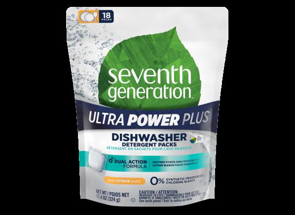 Seventh Generation Ultra Power Plus Packs dishwasher detergent