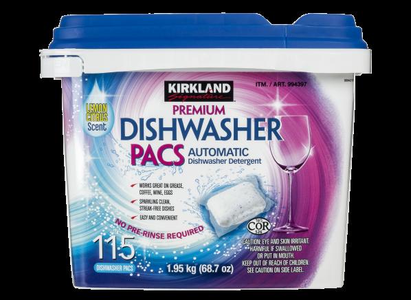 Kirkland Signature (Costco) Premium Dishwasher Pacs
