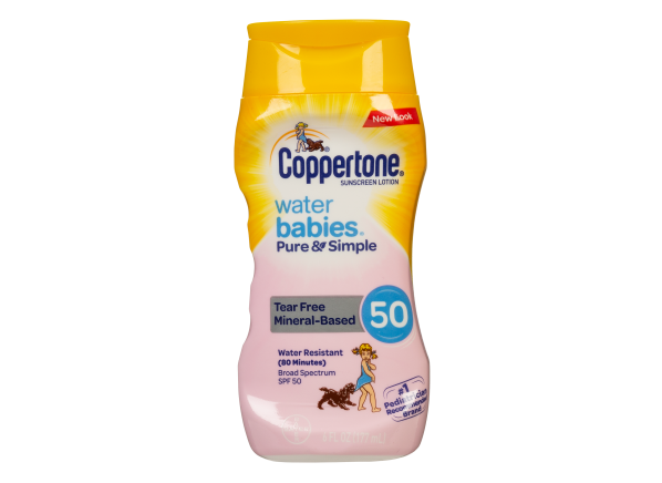 Coppertone WaterBabies Pure & Simple Lotion SPF 50 sunscreen