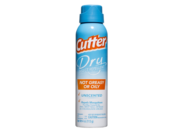 Cutter Dry Insect Repellent DEET 10%