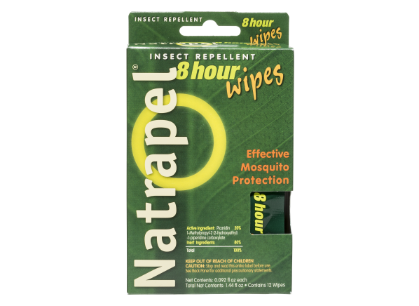 Natrapel 8 hour Wipes insect repellent