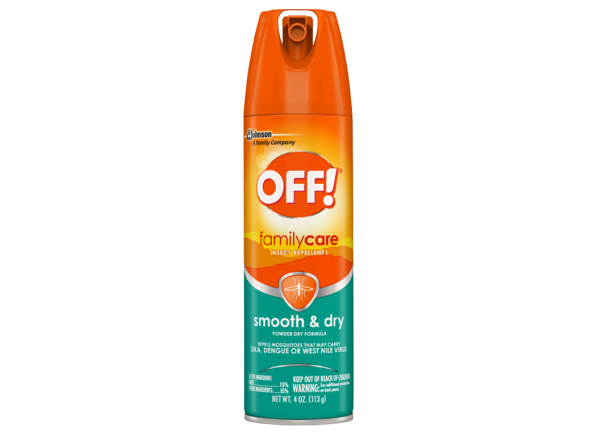 Off FamilyCare Insect Repellent I Smooth & Dry