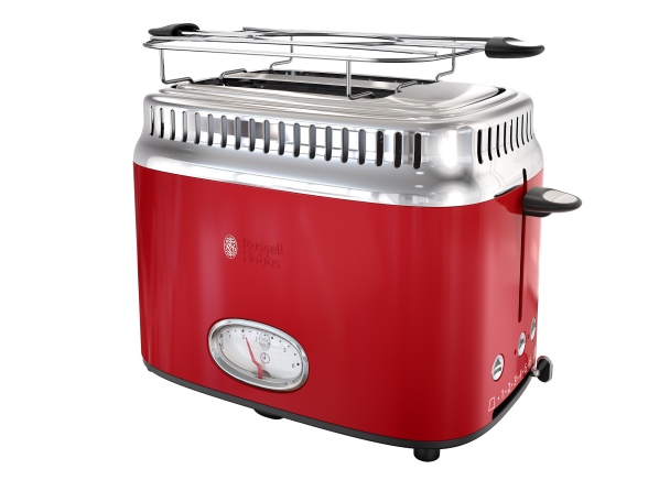 Russell Hobbs Retro Style TR9150RDR toaster - Consumer Reports