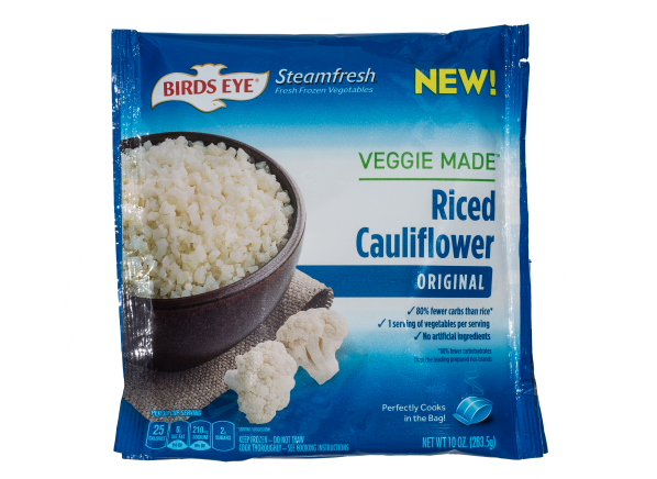 Birds Eye Steamfresh Veggie Made Riced Cauliflower Original frozen food