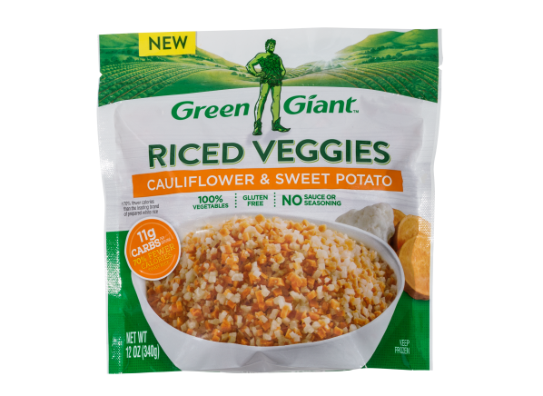 Green Giant Riced Veggies Cauliflower & Sweet Potato frozen food