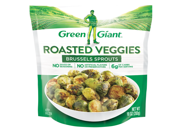 Green Giant Roasted Veggies Brussels Sprouts frozen food