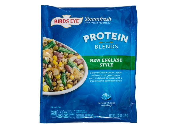 Birds Eye Steamfresh Protein Blends New England Style frozen food