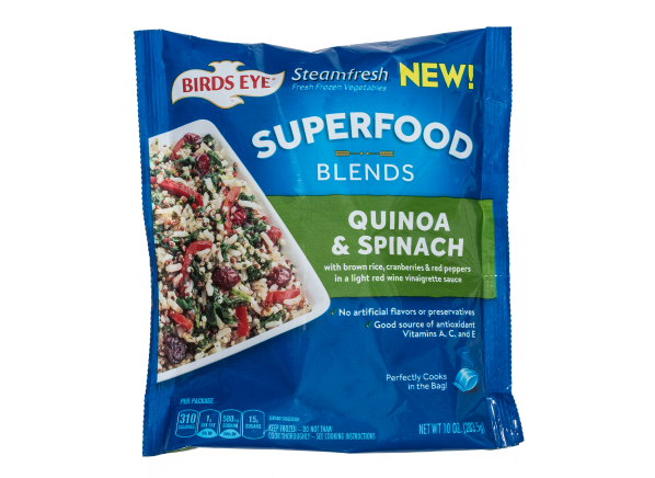Birds Eye Steamfresh Superfood Blends Quinoa & Spinach frozen food