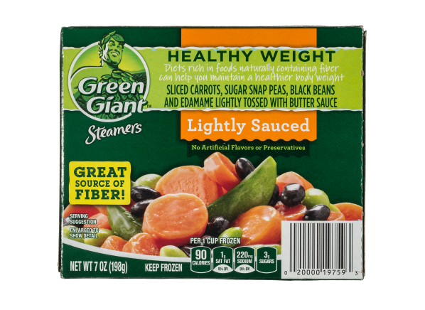 Green Giant Steamers Healthy Weight Lightly Sauced Vegetable Blend frozen food