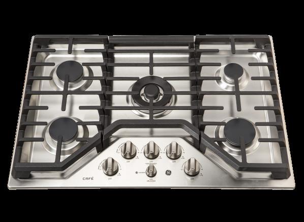 GE Cafe 30 Gas Cooktop Stainless Steel 5 Burner w// Griddle CGP9530SLSS