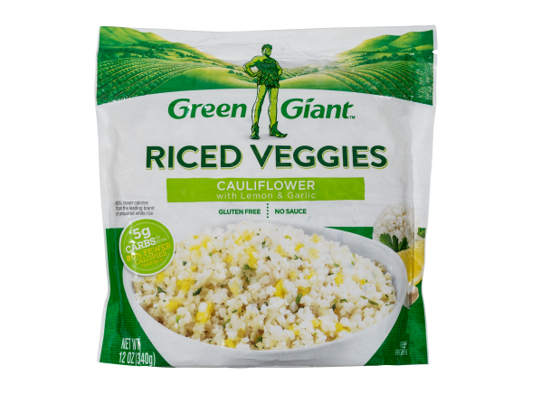 Green Giant Riced Veggies Cauliflower with Lemon & Garlic frozen food