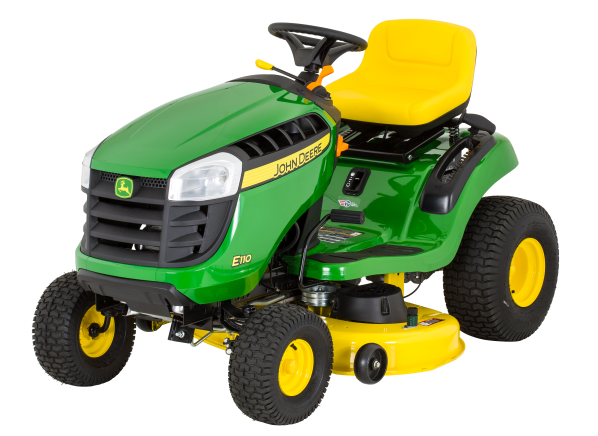 John Deere E110 riding lawn mower & tractor - Consumer Reports