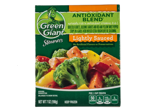 Green Giant Steamers Antioxidant Blend with Broccoli, Carrots, and Peppers frozen food