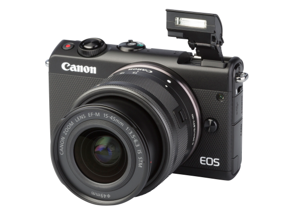 Canon EOS M100 w/ 15-45mm IS STM camera