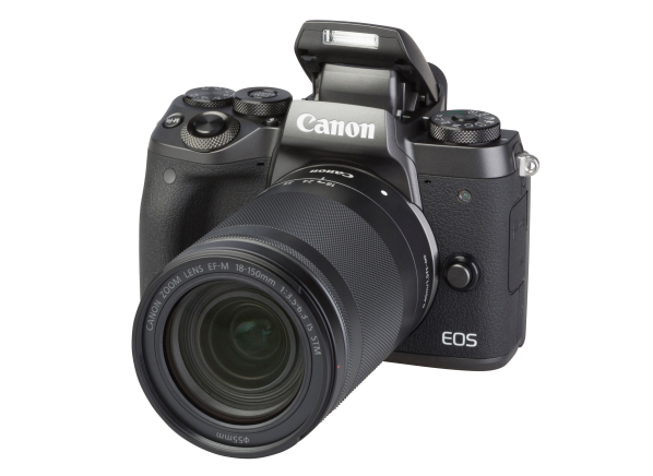 Canon EOS M5 w/ 18-150mm IS STM camera