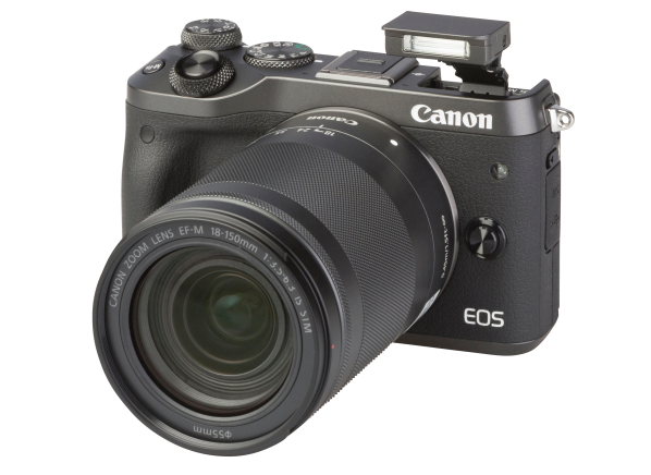 Canon EOS M6 w/ 18-150mm IS STM camera