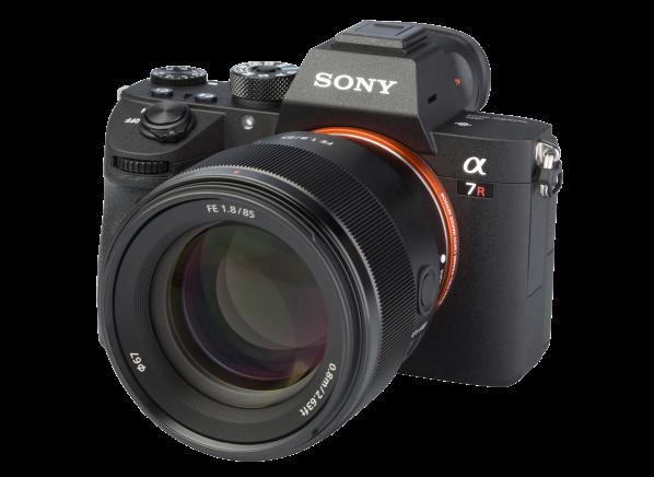 Sony Alpha A7R III w/ FE 85mm camera